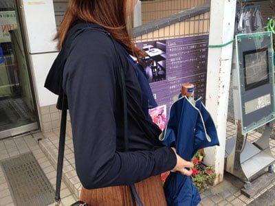 新宿東口で遭遇したセミプロ